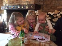 Looking for a loving and fun nanny, near Stroud, Wednesdays, Thursdays and Fridays