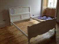 Vintage French Double Bed - lovely restoration project!