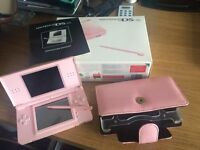 Nintendo DS Lite in pink for sale