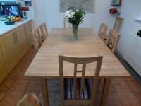 Ikea dinning room table