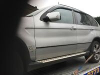 05 BMW X5 3.0 DIESEL AUTO THIS CARS FOR PARTS FOR ANY PARTS CALL ON