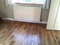 leftover oak flooring