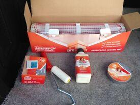 3.0m TR3100 non remote underfloor heating kit + 12 insulation boards