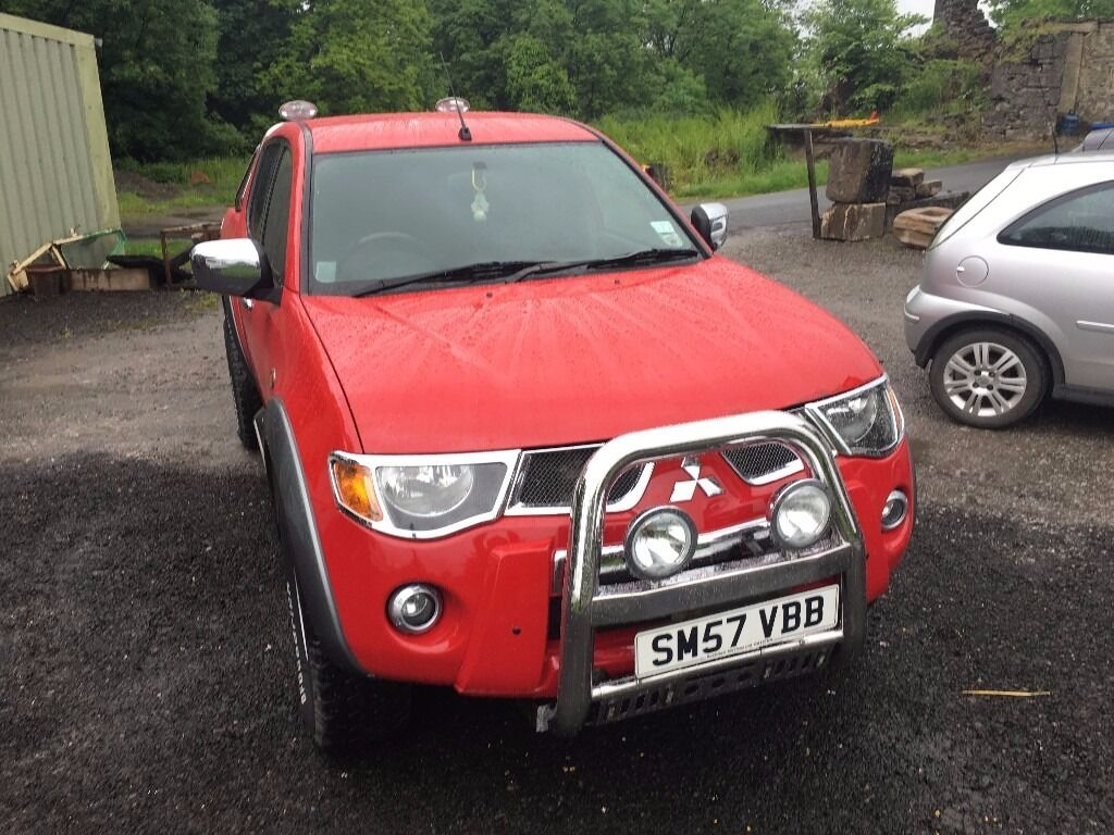 mitsubishi l200 raging bull pick up 2007 for sale 148 000 miles in beith north ayrshire gumtree. Black Bedroom Furniture Sets. Home Design Ideas