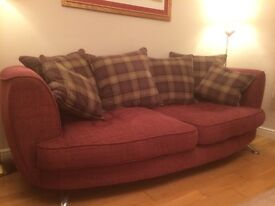 Modern Two and three seater soffas