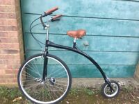 Replica Pennyfarthing, excellent condition, only ridden twice as part of a show