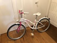 """""""Hello Kitty"""" bicycle in good working condition"""