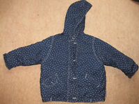 Quilted Jacket / Coat (18-24 montbs) IMMACULATE - Reduced to £3! LIKE NEW + FREE PUZZLES!