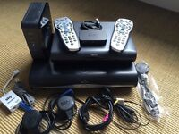 SKY HD Box (recordable), Multi room Box, Router, Wireless Connector