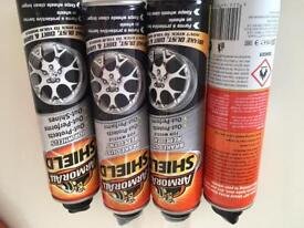 4 cans of Armorall shield brake dust repellent