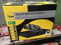 Yale 960H CCTV camera system with hard drive