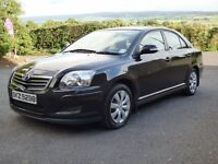 Mint 2007 Toyota Avensis 2.0 D4D Colour Collection 5dr trade in considered, credit cards accepted