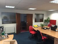 Modern office space 800 sq ft, Great parking, central heated, board room, Leyland