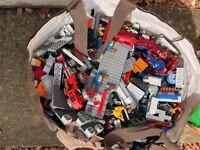 Huge bag of Lego