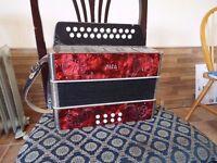 a good learner accordion BC Tunning price: £ 150 accordion