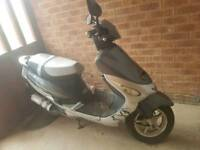 Lexmoto scout 50cc moped genuine 300 miles