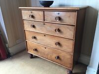 Victorian style chest of drawers for sale