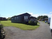 Pine Lodge on Haven Hafan Y Mor holiday park Pwllheli 3 beds sea views