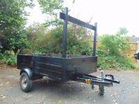 Car/Van/Motorhome trailer 700KG unbraked, well used but got plenty of life yet!!