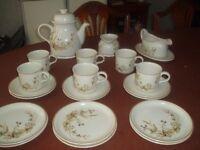 M&S Harvest tea set