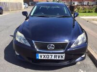 Lexus IS220D – long MOT – good condition inside and out
