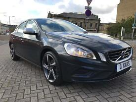 2013 (62) VOLVO S60 R DESIGN D4 163BHP/ ONE COMPANY OWNED VEHICLE/ FULL SERVICE HISTORY/