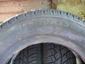 165 x 70 x 13 tyres £10 each