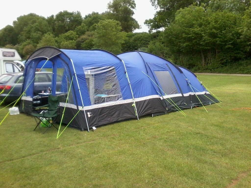 Voyager 6 Tent And Porch In Farsley West Yorkshire