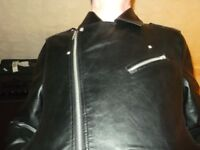 leatherlook bikers jacket