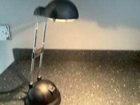 IKEA black Angle pose lamp.
