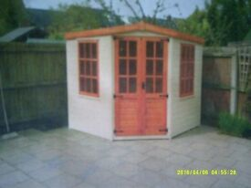 BESPOKE SUMMER HOUSE (MATERIALS ONLY) JOB LOT - PRIVATE SELLER