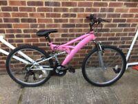 Ladies bike 26 inch wheels 18 gears