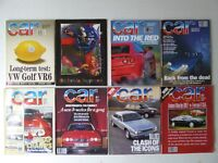 Vintage editions of CAR Magazine from 1994. 7 issues + 30th Anniversary Supplement.