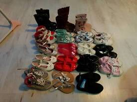 Girls size 8 shoes & boots