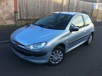 2003*PEUGEOT 206 LOOK*1.4 PETROL**LONG MOT*SERVICE HISTORY*CAMBELT CHANGED*AIR CON*IDEAL FIRST CAR