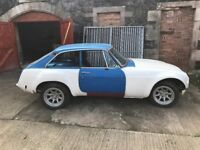 MGB GT For Restoration comes with V8 Engine, Manual Gearbox and Sebring Body Kit
