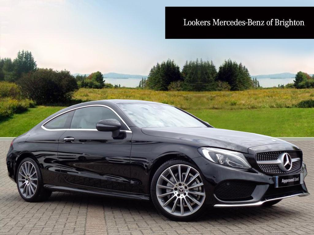mercedes benz c class c 220 d amg line premium plus black 2017 05 09 in portslade east. Black Bedroom Furniture Sets. Home Design Ideas