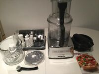 MAGIMIX - Food Processor Mixer 5200 XL - Chrome Silver - Kitchen