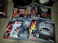 guitare hero ps3 10 jeux