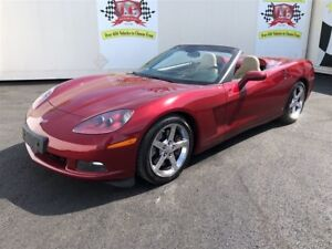 2006 Chevrolet Corvette Auto, Navigation, Leather, Convertible,