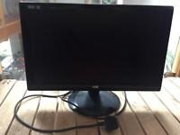 AOC 21.5inch widescreen LCD monitor.