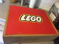 Lego Box and bags of Lego