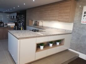 Ex display Rotpunkt german kitchens