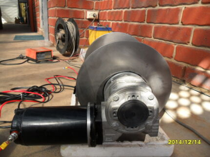 electric drum anchor winch Paralowie Salisbury Area Preview