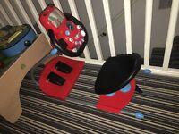 Disney Cars car driving toy seat