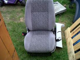 zafira 7 seater seats
