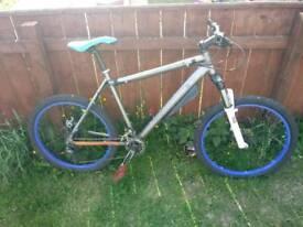 2 mountain bikes swaps
