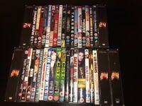 DVDs film and tv series