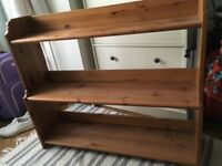 Solid Wood Bookshelf FREE DELIVERY