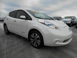 2015 Nissan Leaf SL TOUT ÉQUIPÉ CUIR NAVIGATION CAMÉRA RECUL A/C